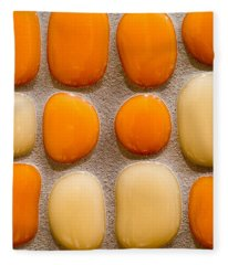 Stone Yolks Fleece Blanket