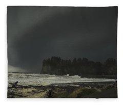 Storm Is Coming North West Wa Fleece Blanket