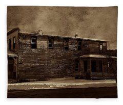 Storm Of 1888 Fleece Blanket