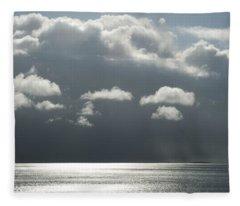 Storm Is Coming  Fleece Blanket