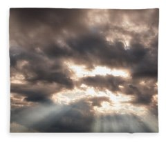 Storm Rays Fleece Blanket