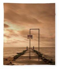 Storm Warning Fleece Blanket