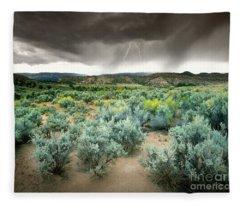 Storms Never Last Fleece Blanket