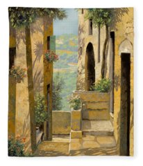 stradina a St Paul de Vence Fleece Blanket