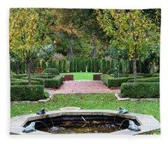 Stranahan Estate Garden 2248 Fleece Blanket