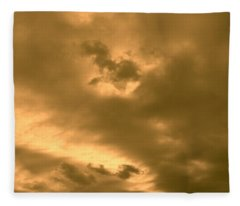 Strange Atmosphere Fleece Blanket