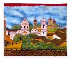 Street Art Granada Nicaragua 3 Fleece Blanket