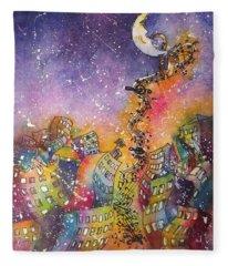 Street Dance Fleece Blanket