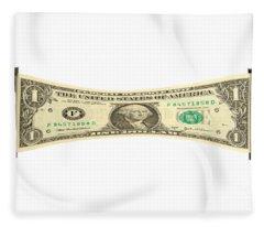Stretching The Dollar Fleece Blanket