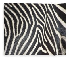 Stripes And Ripples Fleece Blanket