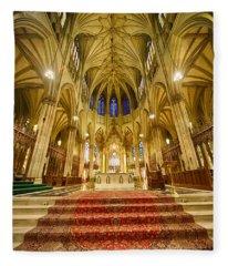 Stunning St Patricks I Fleece Blanket