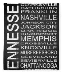 Subway Tennessee State 1 Fleece Blanket
