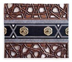 Sultan Ahmet Mausoleum Door 03 Fleece Blanket