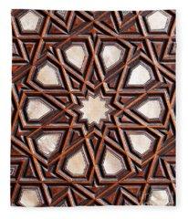 Sultan Ahmet Mausoleum Door 04 Fleece Blanket