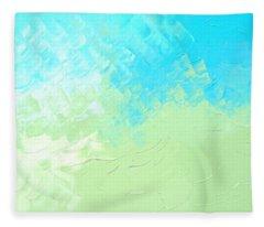 Summer Afternoon Fleece Blanket