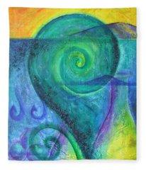 Summer Aotearoa Fleece Blanket