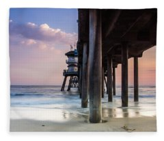 Summer Bliss Fleece Blanket