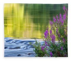 Summer Reflections Fleece Blanket