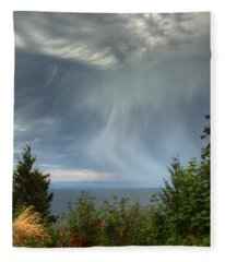 Summer Squall Fleece Blanket