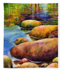 Summer Tranquility Fleece Blanket
