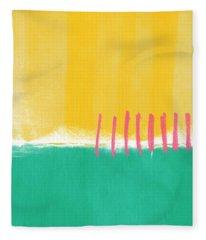 Summer Walk Fleece Blanket