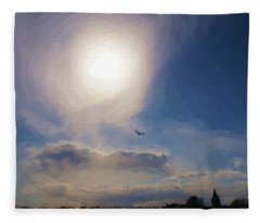 Sun And Skies Fleece Blanket