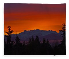 Sundown Fleece Blanket