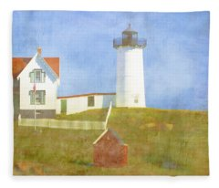 Maine Coast Fleece Blankets