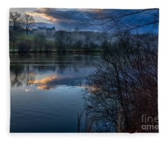 Sunrise At  Biltmore Estate Fleece Blanket