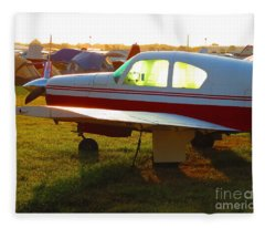 Sunrise At Oshkosh Fleece Blanket