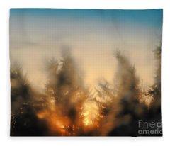 Sunrise Dream Fleece Blanket