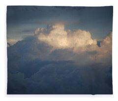 Sunrise Over The Atlantic Ocean Fleece Blanket