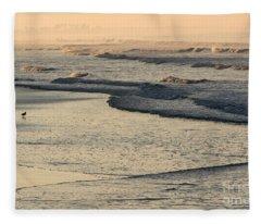 Sunrise On The Ocean Fleece Blanket