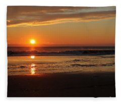 Sunrise Serenity Fleece Blanket