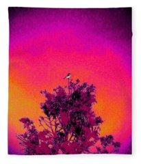 Sunrise To Sunset Nature Is Beautiful Fleece Blanket