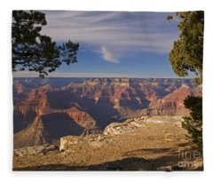 Sunset At Hopi Point Fleece Blanket