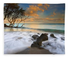 Sunset In Paradise Fleece Blanket