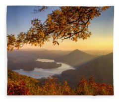 Sunset Light Fleece Blanket