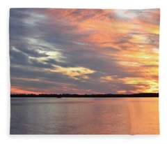 Sunset Magic Fleece Blanket