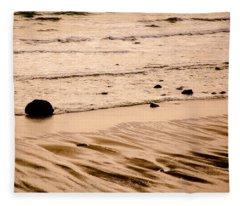 Sunset Palette Wreck Beach Fleece Blanket