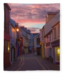 Sunset Street Fleece Blanket