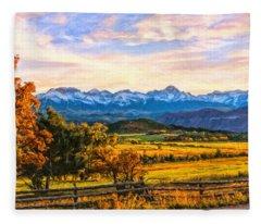 Sunset View Fleece Blanket