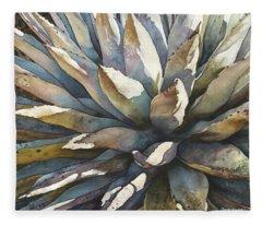 Sunstruck Yucca Fleece Blanket