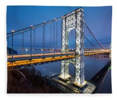 Super Bowl Gwb Fleece Blanket