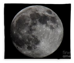 Super Moon 2014 Fleece Blanket