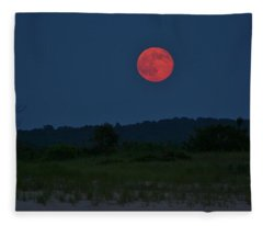 Super Moon July 2014 Fleece Blanket