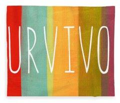Survivor Fleece Blanket