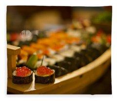 Sushi Heaven Fleece Blanket