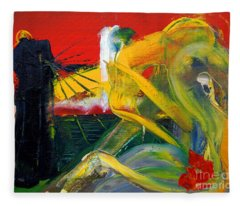 Suzanne's Dream IIi Fleece Blanket