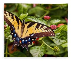 Swallowtail Beauty Fleece Blanket